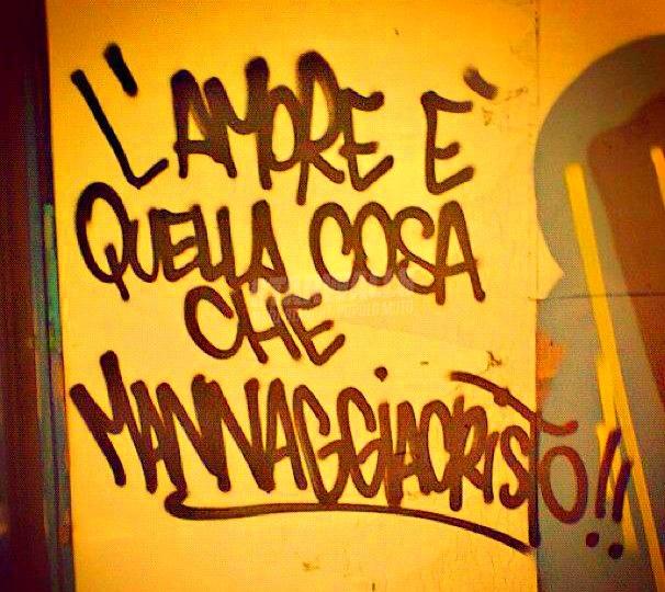 Scritte sui Muri What is love cap. II