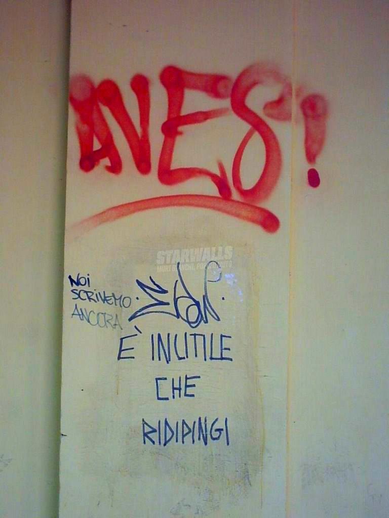Scritte sui Muri Fedeli alla linea
