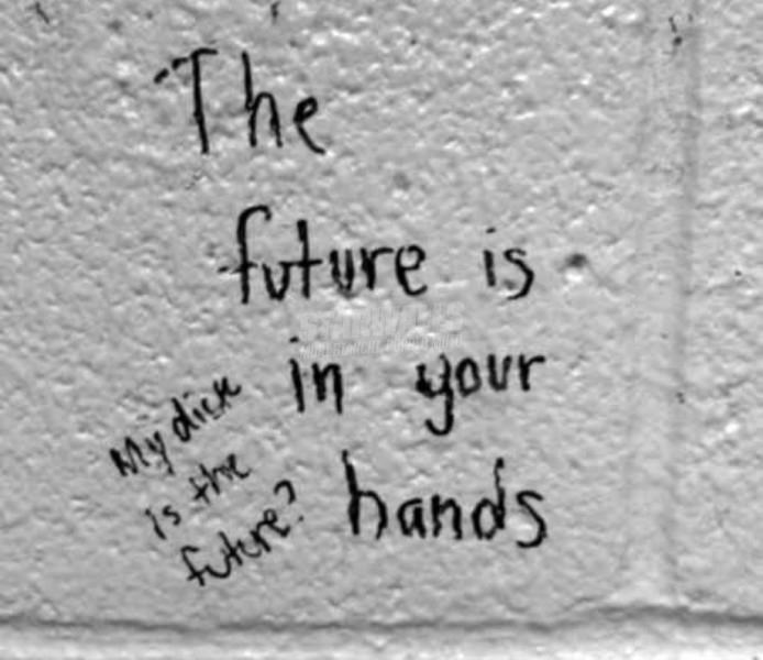 Scritte sui Muri Futurebation