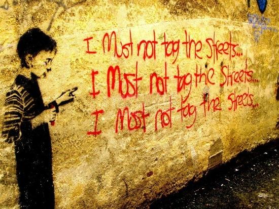 Scritte sui Muri Penitenza / promemoria