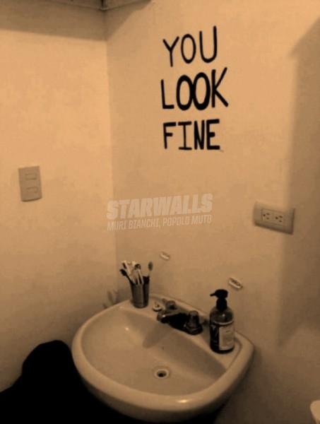 Scritte sui Muri No mirror needed