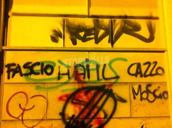Scritte sui Muri Camerata svantaggiato