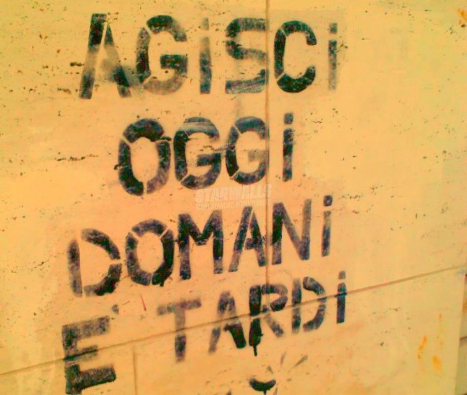 Scritte sui Muri Carpe diem
