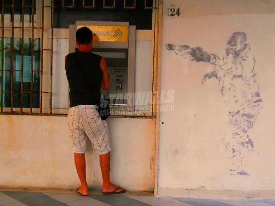 Scritte sui Muri Questa è una rapina