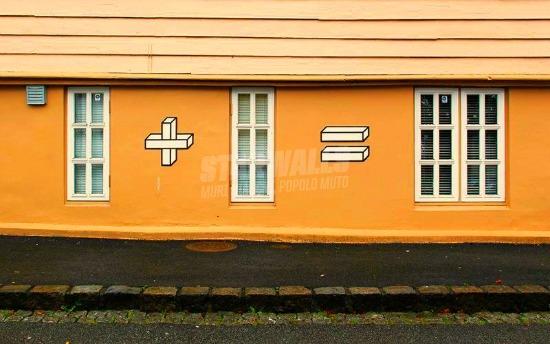 Scritte sui Muri La matematica non è un'opinione
