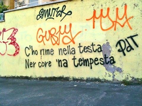 Scritte sui Muri Rime Romane