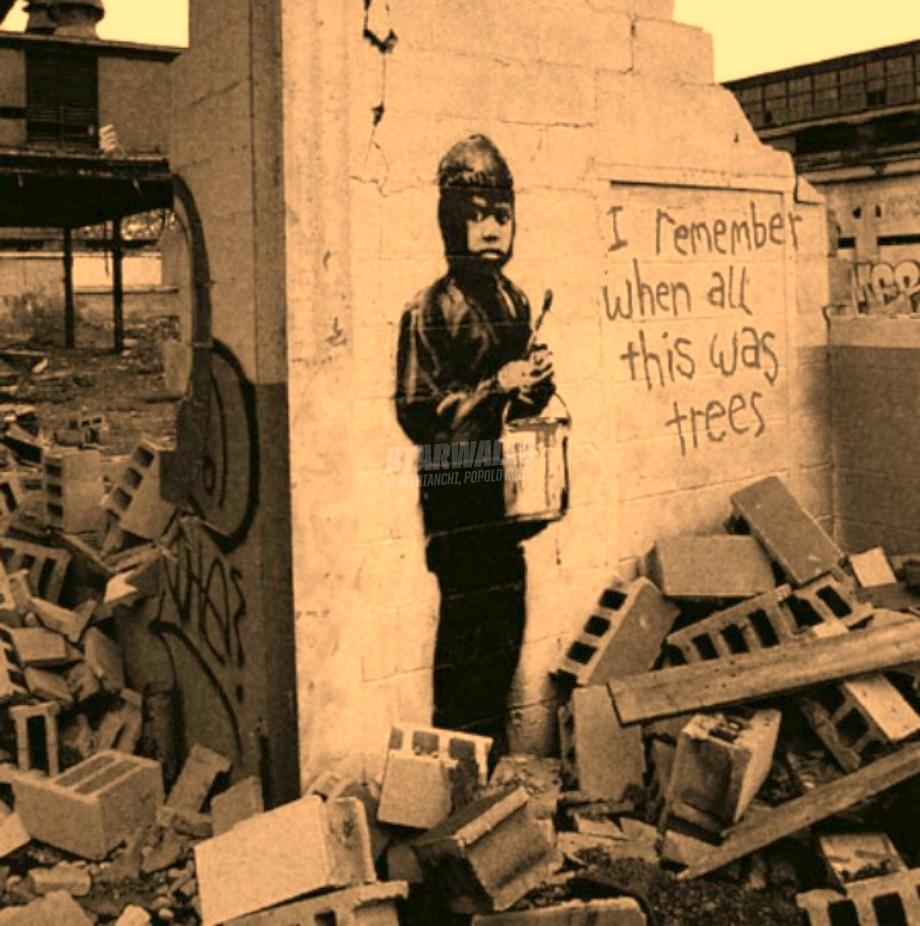 Scritte sui Muri Il passato che non torna più