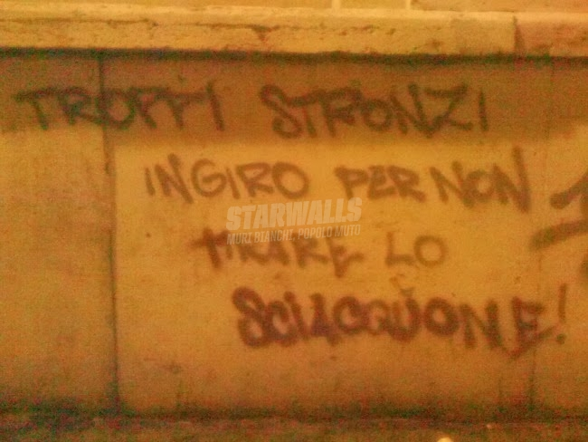 Scritte sui Muri Wash out