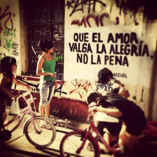 Scritte sui Muri El Amor Es Una Cosa Simple