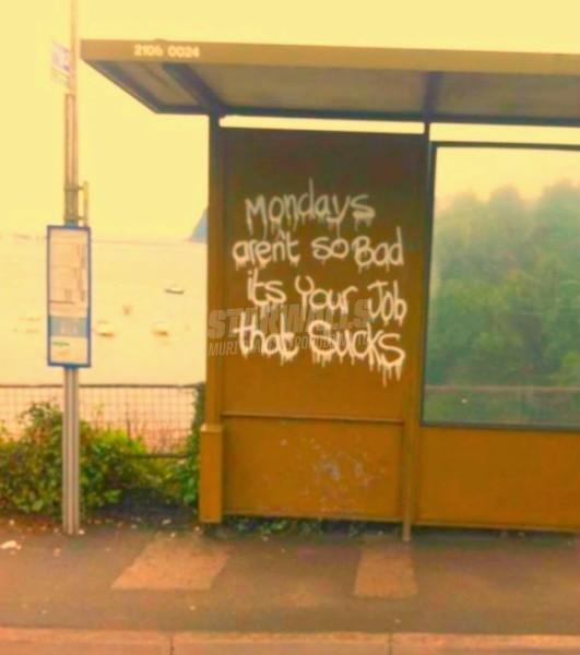 Scritte sui Muri Lunedì