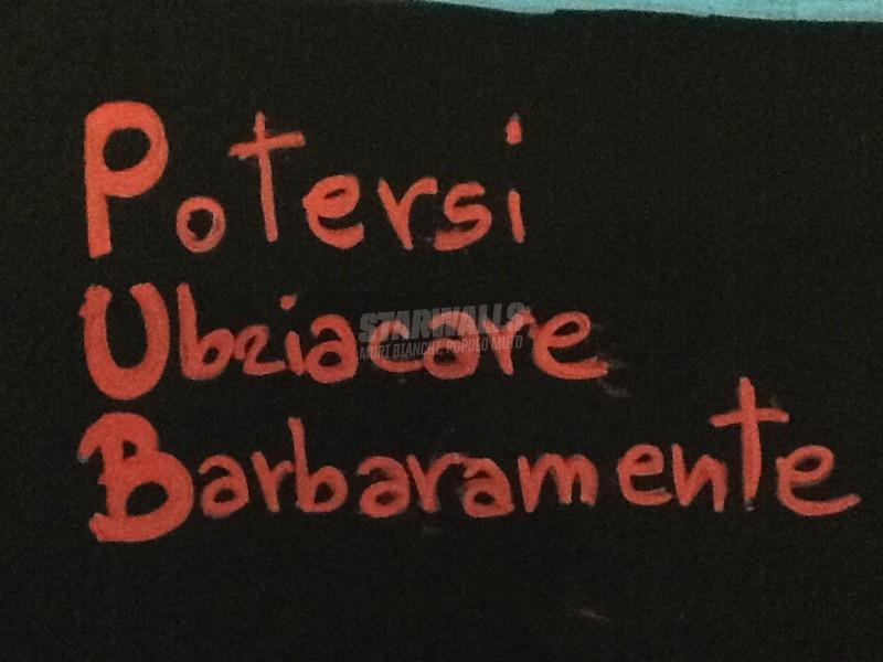 Scritte sui Muri P come birra