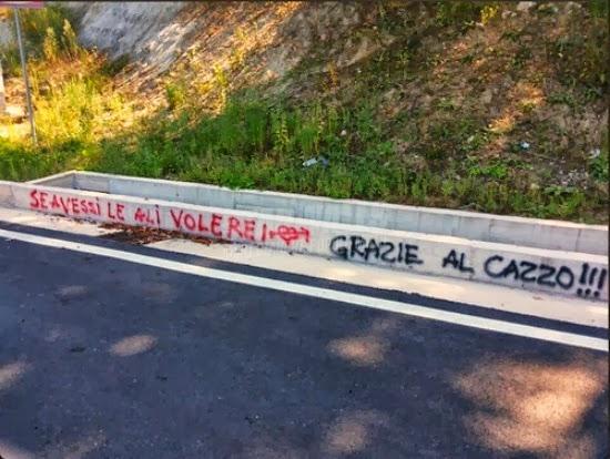 Scritte sui Muri Icaro