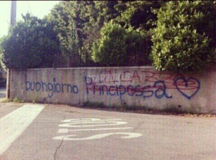 Scritte sui Muri Bonjour