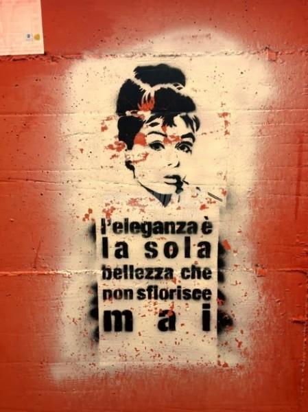 Scritte sui Muri Cit. Audrey Hepburn