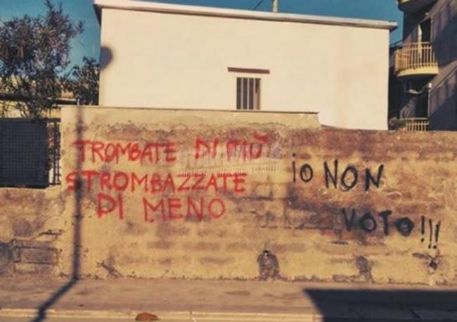 Scritte sui Muri Do not disturb