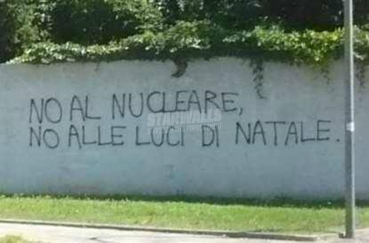 Scritte sui Muri No grazie