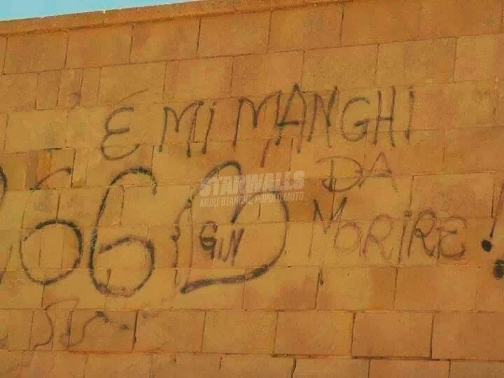 Scritte sui Muri Anghe tu