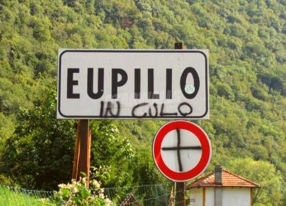 Scritte sui Muri Capitale d'Italia