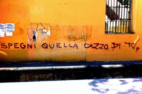 Scritte sui Muri E usa la testa