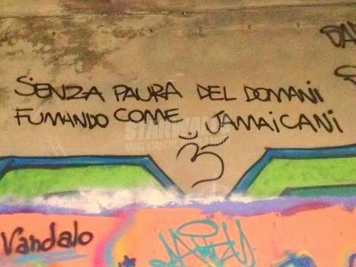 Scritte sui Muri Impavidi