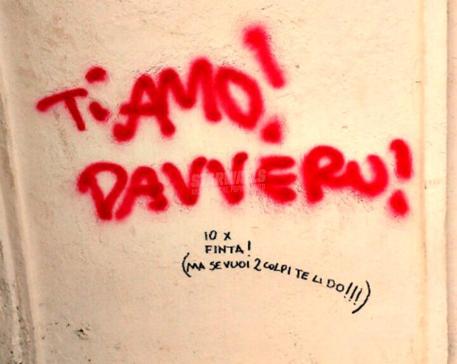 Scritte sui Muri Se vuoi ...