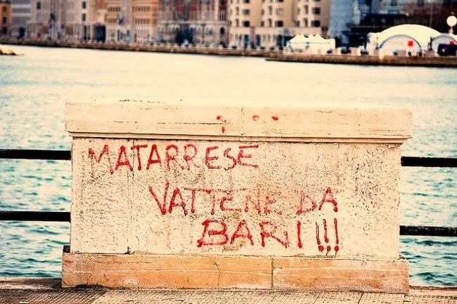 Scritte sui Muri Bari vs Matarrese