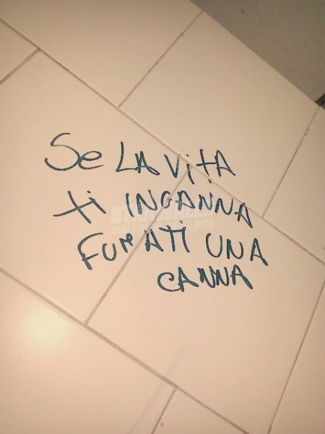 Scritte sui Muri E non ci pensi più