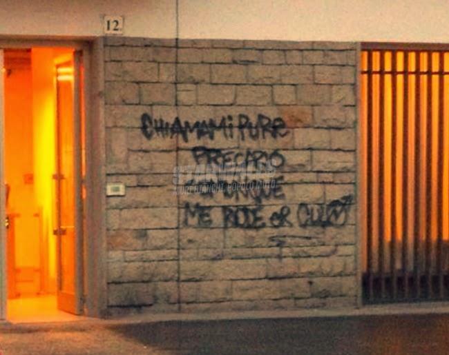 Scritte sui Muri Lavoratore parasubordinato