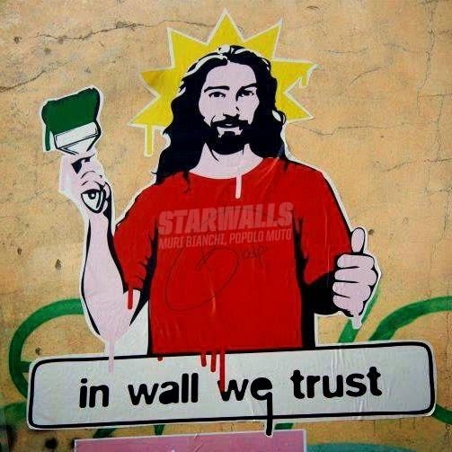 Scritte sui Muri Our religion