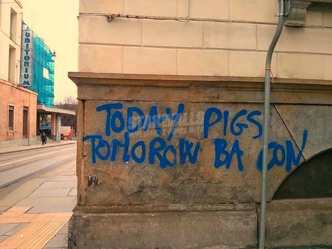 Scritte sui Muri Presente e futuro