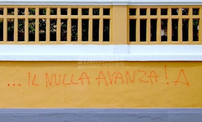 Scritte sui Muri Renzi !