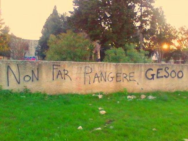 Scritte sui Muri Sarebbe un peccato