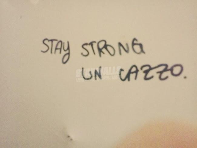 Scritte sui Muri Sconfortato