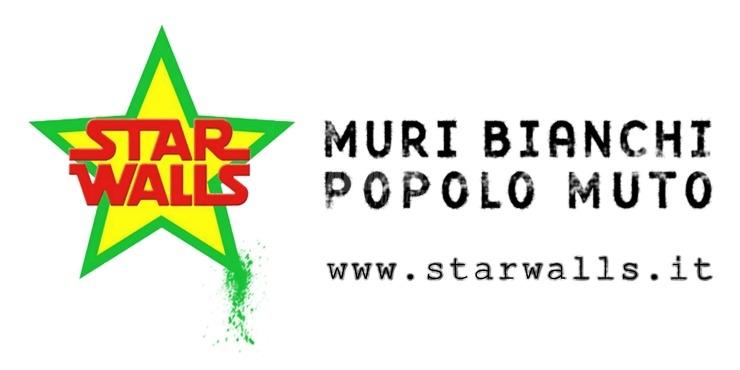Scritte sui Muri | Star Walls Logo