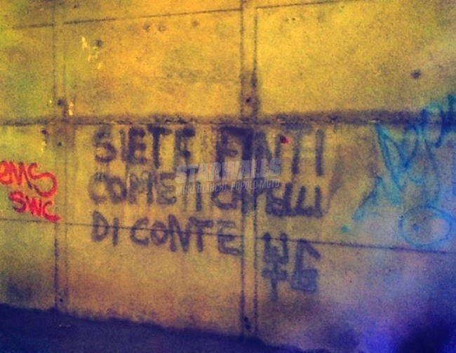 Scritte sui Muri Tricologici