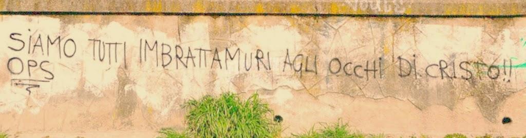 Scritte sui Muri Vandali