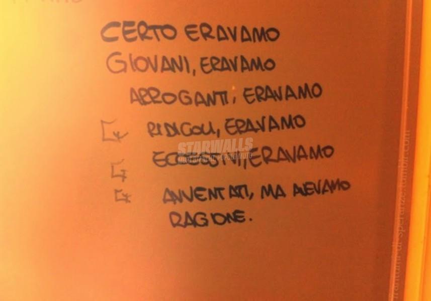 Scritte sui Muri Dalla parte giusta