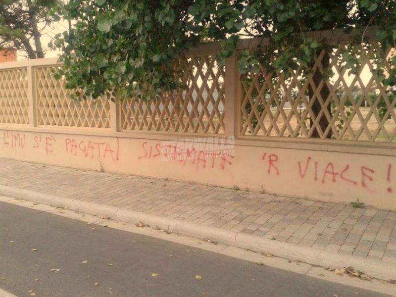 Scritte sui Muri Il cittadino pretende