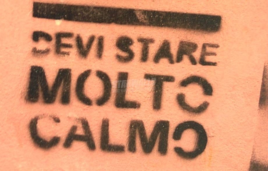 Scritte sui Muri Keep calm
