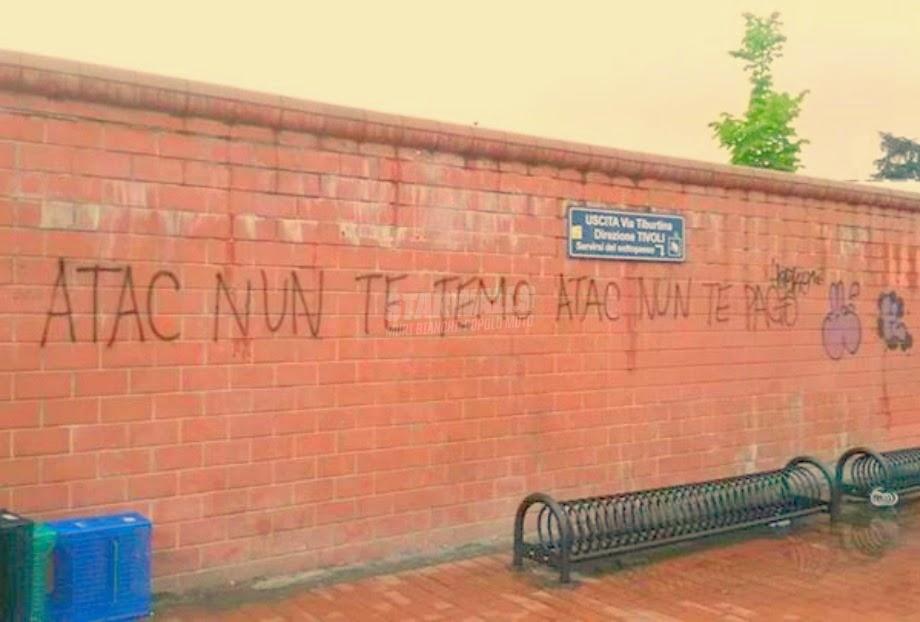 Scritte sui Muri Muoversi a Roma