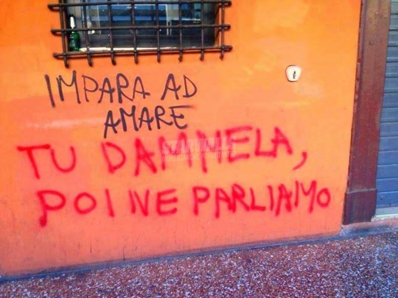 Scritte sui Muri Scaramucce d'amore