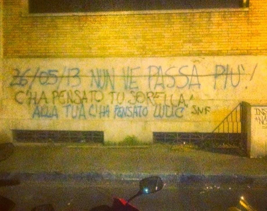 Scritte sui Muri Il derby sui muri cap. III