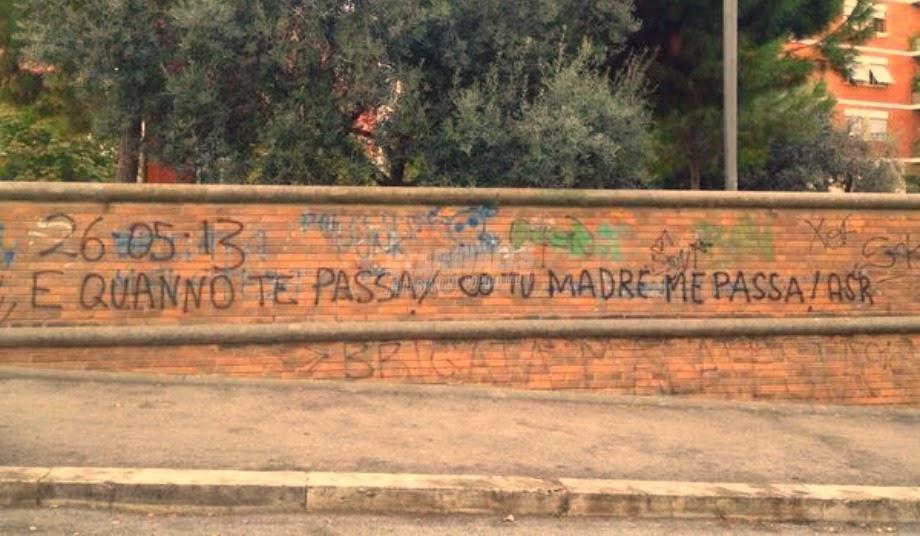 Scritte sui Muri Il derby sui muri cap. IV