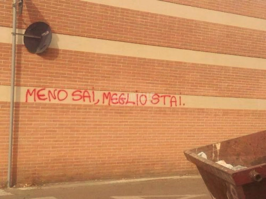Scritte sui Muri Indubbiamente