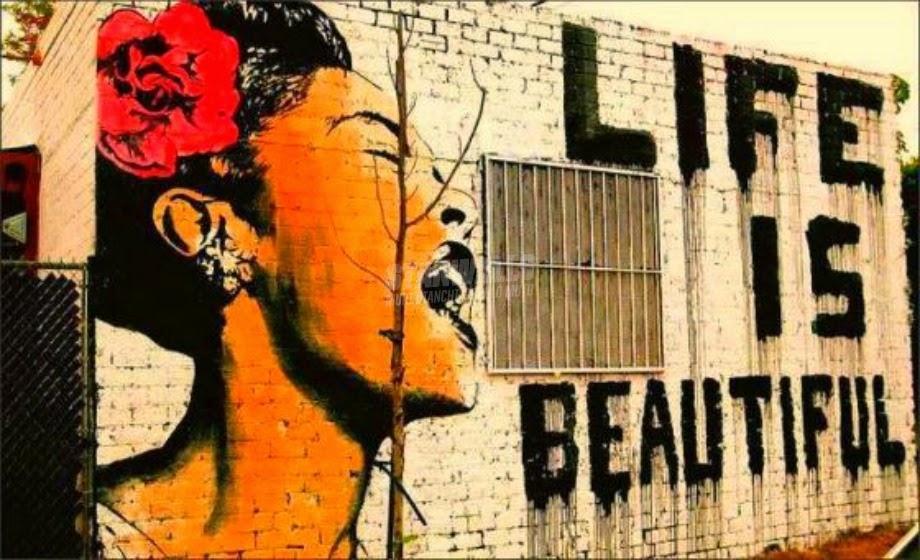 Scritte sui Muri La vita è bella
