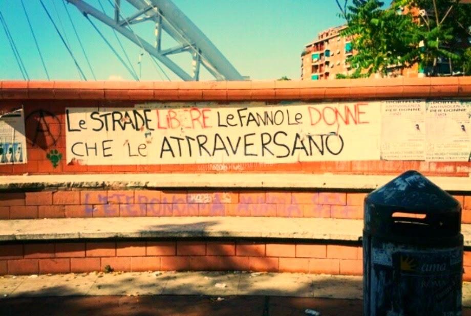 Scritte sui Muri Le vie dell'emancipazione