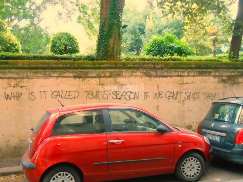 Scritte sui Muri Ospitalità fiorentina