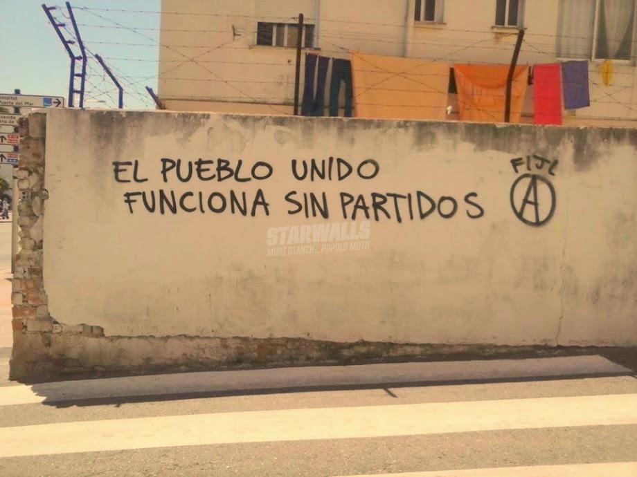Scritte sui Muri Participación popular