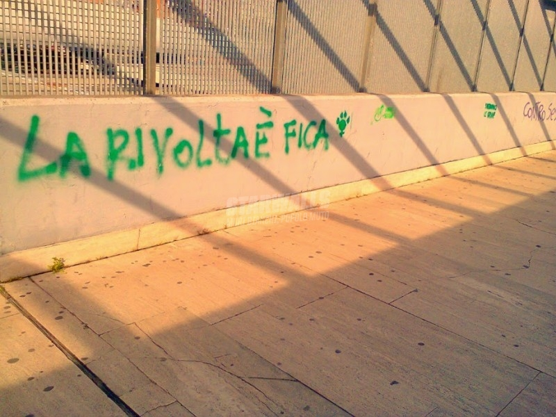 Scritte sui Muri Sexy riot