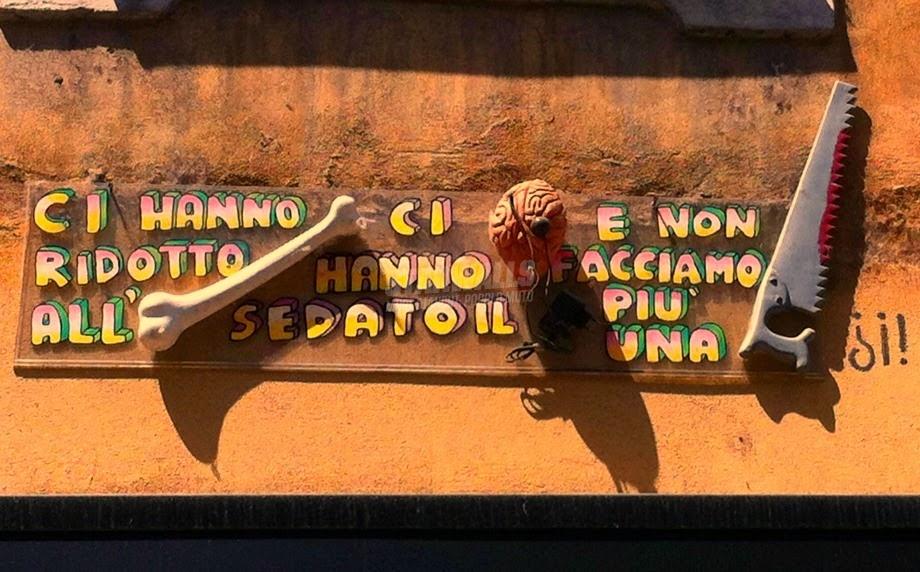 Scritte sui Muri Sopraffatti